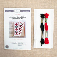 Stitcharama - Ukranian Cross Stitch Bookmark Kit