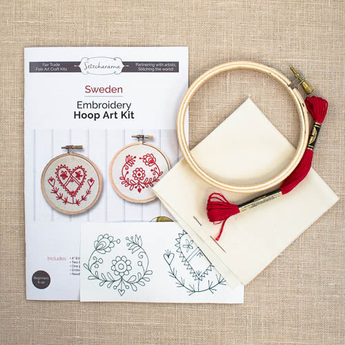 Stitcharama - Swedish Embroidery Hoop Art Kit