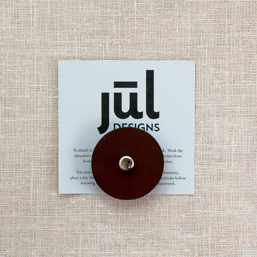 JUL Leather Pedestal Buttons