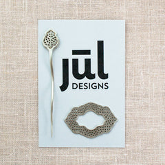 JUL Moroccan Window Shawl Pin