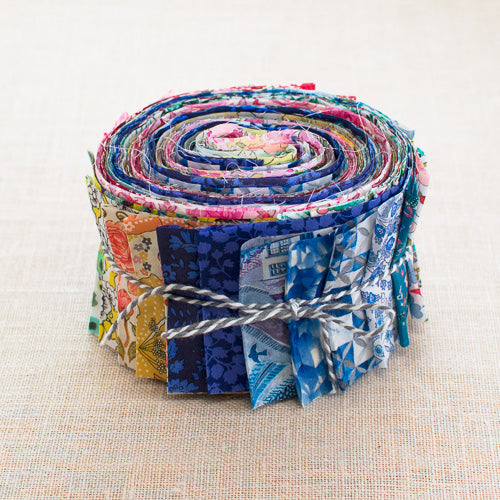 Rainbow Liberty Jelly Roll, 34 Colours