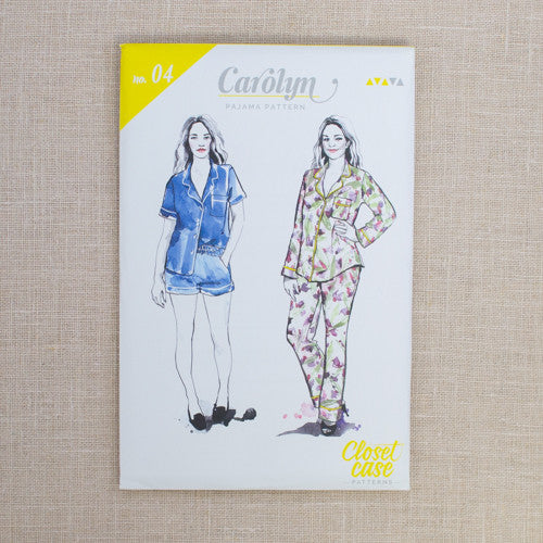 Closet Case Patterns - Carolyn Pajamas