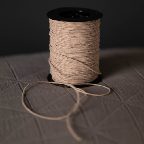 Merchant & Mills Recycled Cotton Elastic Oatmeal