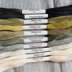 Temaricious Natural Embroidery Floss - Forest Pack