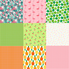 Fruity Friends Half Yard Bundle / 13 pcs