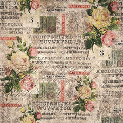 Wallflower Collection - Rose Parcel in Multi