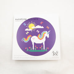 Diana Watters Handmade - Sunshine Unicorn Cross Stitch Kit