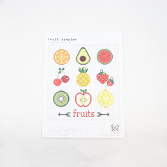Diana Watters Handmade - Fruit Sampler Cross Stitch Kit