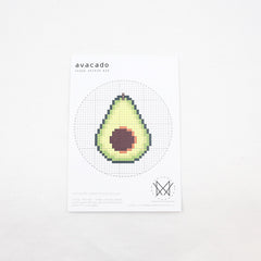 Diana Watters Handmade -Avocado Cross Stitch Kit