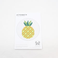 Diana Watters Handmade - Pineapple Cross Stitch Kit