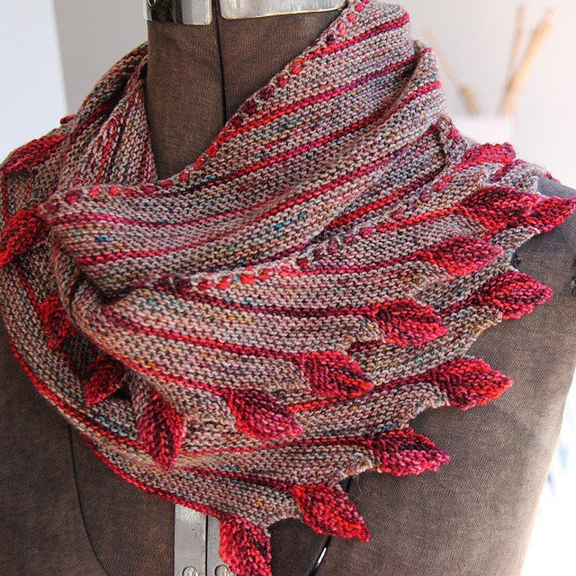 Leftie Shawl Class (with materials!)
