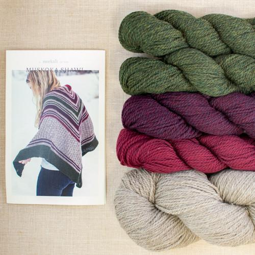 Muskoka Shawl Kit