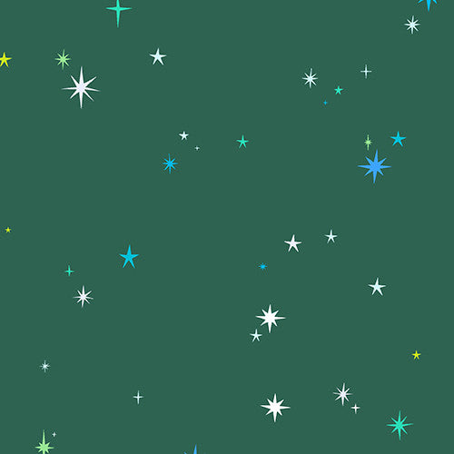 Natural History Collection - Stars (green)