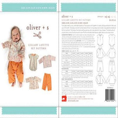 Oliver + S Lullaby Layette Set Pattern