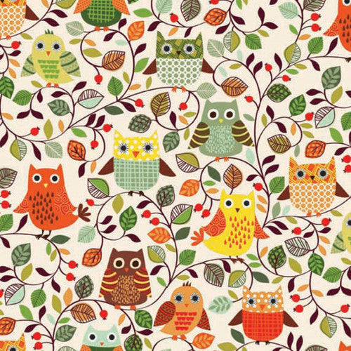Forest Friends by Henley Studio / Owls White (TP1518)