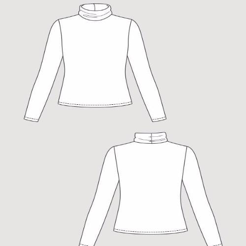 Named Clothing - Paola Turtleneck Tee