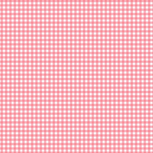 Fruity Friends - Pink Gingham