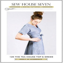 Sew House Seven - The Tea House Top and Dress