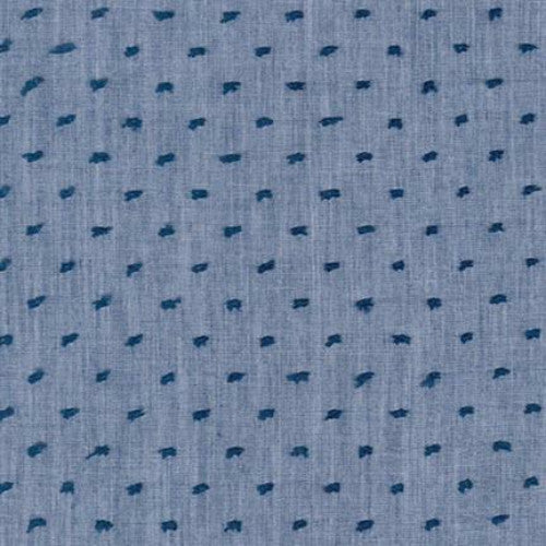 Swiss Chambray Dot - Denim (15577/67)