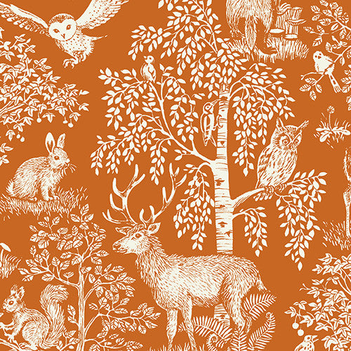 Sherwood Collection - Scenic Orange
