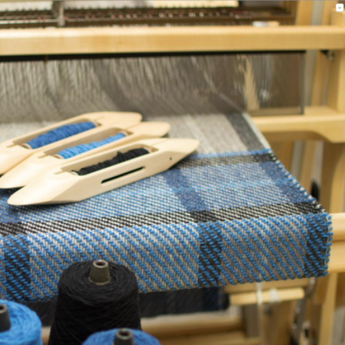 Introduction to Floor Loom Weaving: Weave a Tartan Shawl