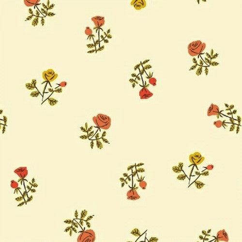 Tiger Lily Collection - Small Roses (cream)