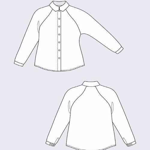 Named Clothing - Stella Raglan Shirt & Shirt Dress