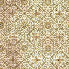 Wallflower Collection - Tiled in Green