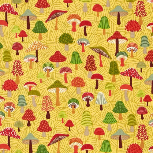 Forest Friends by Henley Studio / Toadstools Gold (TP1521)