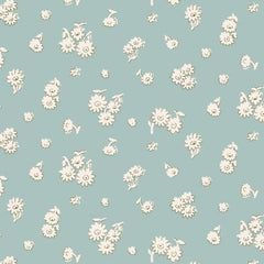Liberty of London - The English Garden - Tumbling Daisy Blue (04775602Y)