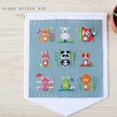 Diana Watters Handmade - Animal Sampler Cross Stitch Kit