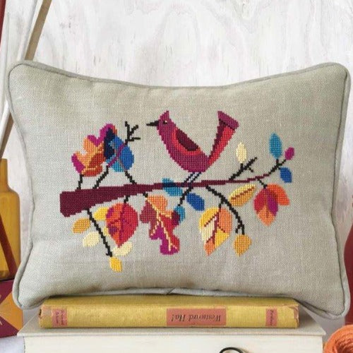 Satsuma Street Cross Stitch kit - Autumn Bird