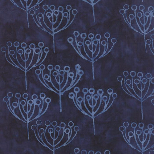 Hometown Girl Batiks - Midnight Berry (43067-52)