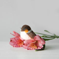 Learn to Needle Felt a Bird