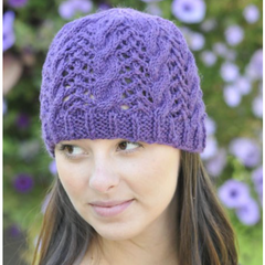 Cable Hat Pattern by Cascade