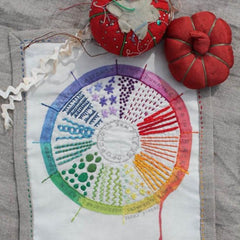 Dropcloth Samplers - Colour Wheel Sampler