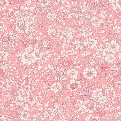 Liberty of London - The English Garden - Emily Silhouette Pink (04775604W)