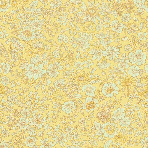 Liberty of London - The English Garden - Emily Silhouette Yellow(04775604X)