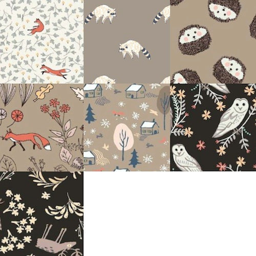 For Fox Sake Fat Quarter Bundle