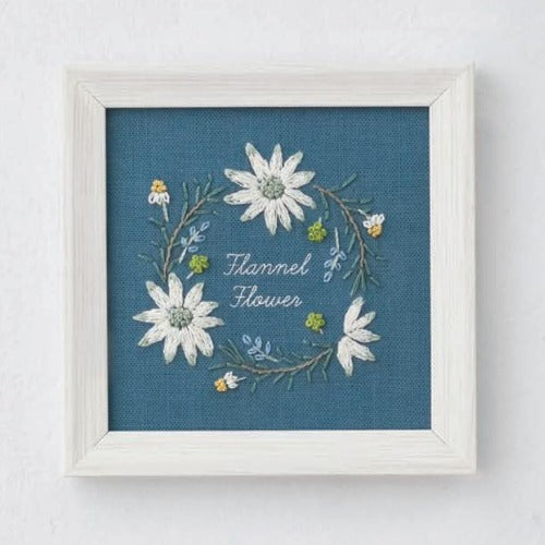 Lecien - Kazuko Aoki - Flannel Flower Embroidery Kit (542009)