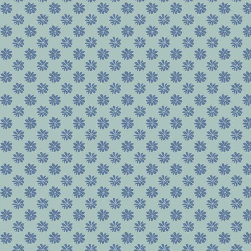 Liberty of London - The English Garden - Floral Dot Blue (04775603Z)