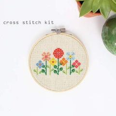 Diana Watters Handmade - Flower Garden Cross Stitch Kit
