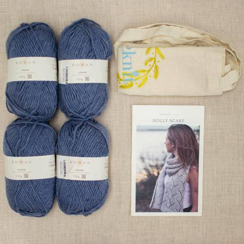 holly scarf kit