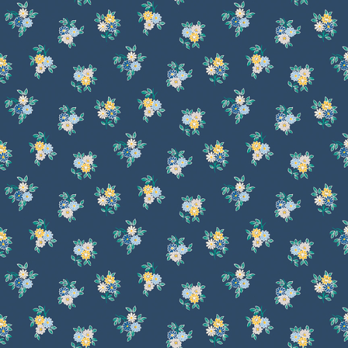 The Emporium Collection - Kyoto Posy in Blue