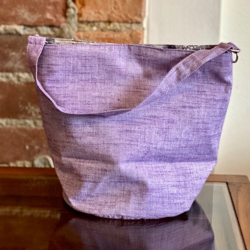 Bucket Bag / Light Purple Essex