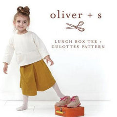 Oliver + S Lunch Box Tee & Gulottes Patterns