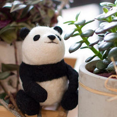 Learn to Needle Felt a Panda