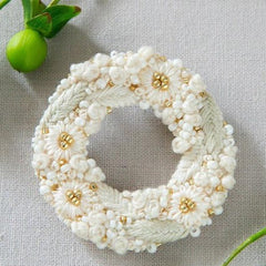 Piece - K.omono Brooch Kit White (PHC-084-1)