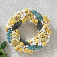 Piece - K.omono Brooch Kit Yellow (PHC-084-2)