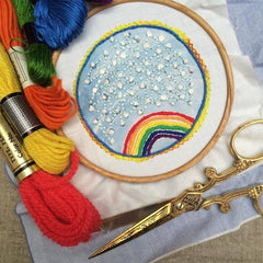 Dropcloth Samplers - The Rainbow Sampler